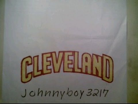 How To Draw Cleveland Cavaliers Logo Sign Symbol Emblem Easy Step By