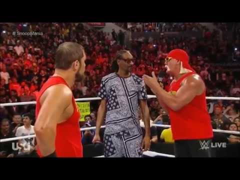 Segment on the go home Raw before WM31. Snoop Dogg, Hulkamania, and Axlemania