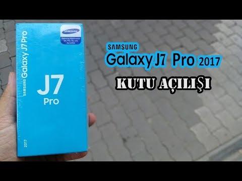 Samsung Galaxy J7 Pro Kutu Açılışı