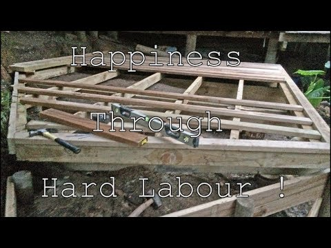 Happiness Through Hard Labour !