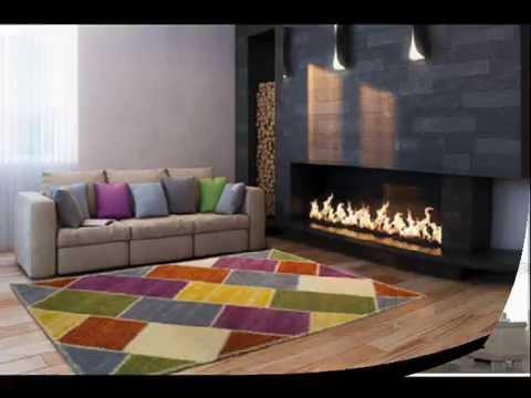 Alfombras de lana alfombras decorativas para salones - Alfombras de salon ...