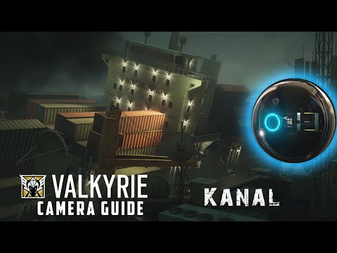 EYE EYE, CAPTAIN! (Valkyrie Camera Guide - Kanal) | Rainbow Six: Siege