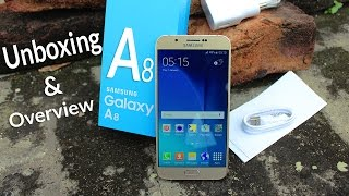 Samsung Galaxy A8 Unboxing & Overview 4K
