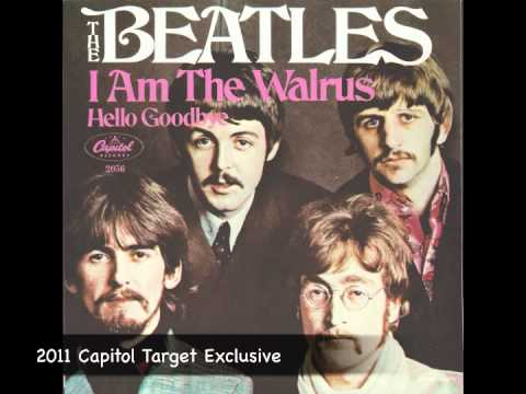 Comparison Between I Am The Walrus Beatles Vinyl Remastered