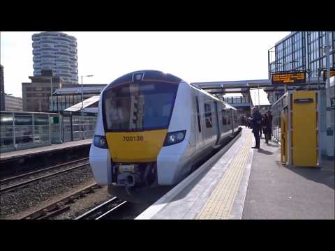 East Croydon to Finsbury Park via Canal Tunnel (Direct)