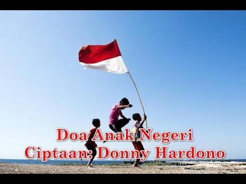 Doa Anak Negeri ciptaan Donny Hardono