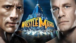 WWE Wrestlemania 29 John Cena vs The Rock highlights