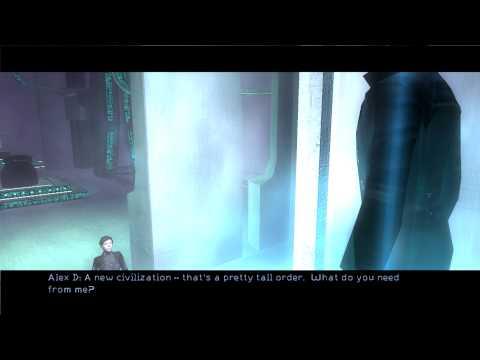 Deus Ex Invisible War - JC Denton Ice Sanctuary