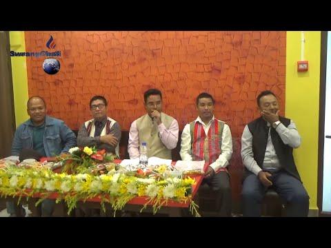 UTF mothani Annual programni bisingtwi Kwtal Committee khajakha agartala Haritage Restaurant hallo