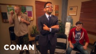Google Glass Addicts Have A New Support Group  - CONAN on TBS