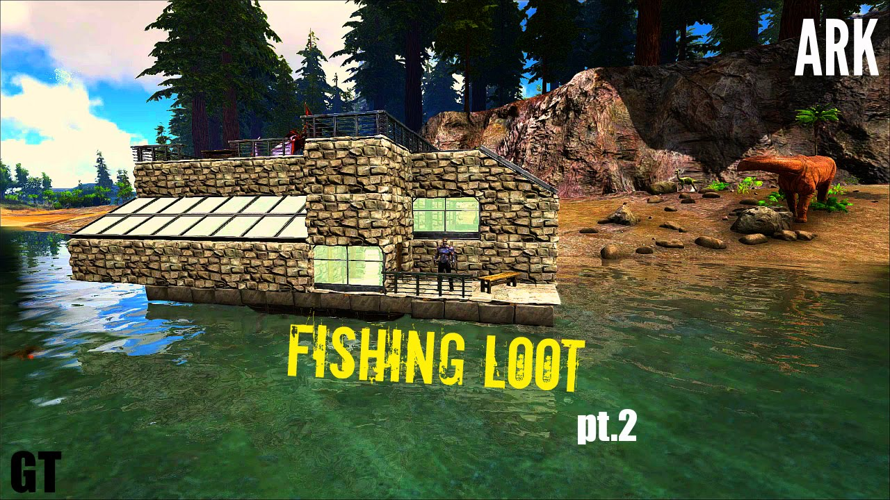 Fishing In ARK   Loot And Info (Part 2)   ARK: Survival Evolved   YouTube