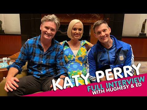 Katy Perry FIRST FULL INTERVIEW After Baby Announcement | Hughesy & Ed