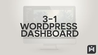 WordPress for Beginners 2015 Tutorial Series | Chapter 3-1: WordPress Dashboard