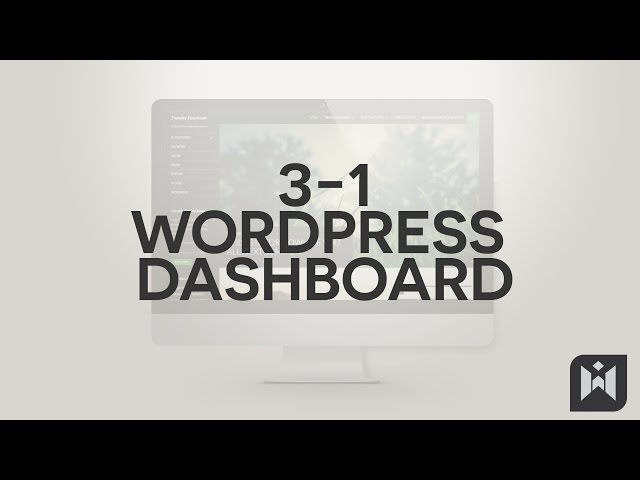 WordPress for Beginners 2015 Tutorial Series | Chapter 3-1: WordPress Dashboard
