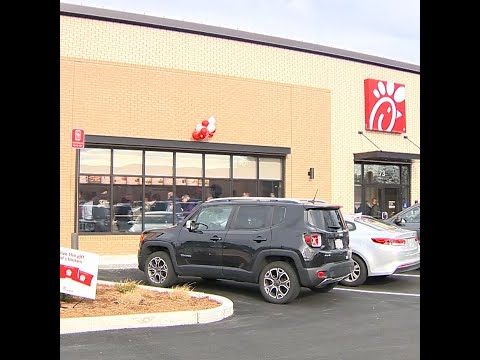 Chick-fil-A opens in Methuen
