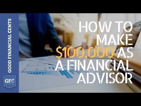 How to Make $100,000 as a Financial Advisor (#likeaboss 😎)