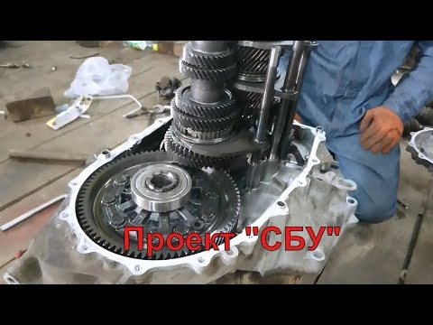 """Лечим """"Чуханку"""" и  Разбираю КПП 6ст Honda Cr-v проект """"СБУ CR-V"""""""