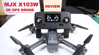 MJX X103W - GPS Drone With LED Landing Lights - Under 250 grams