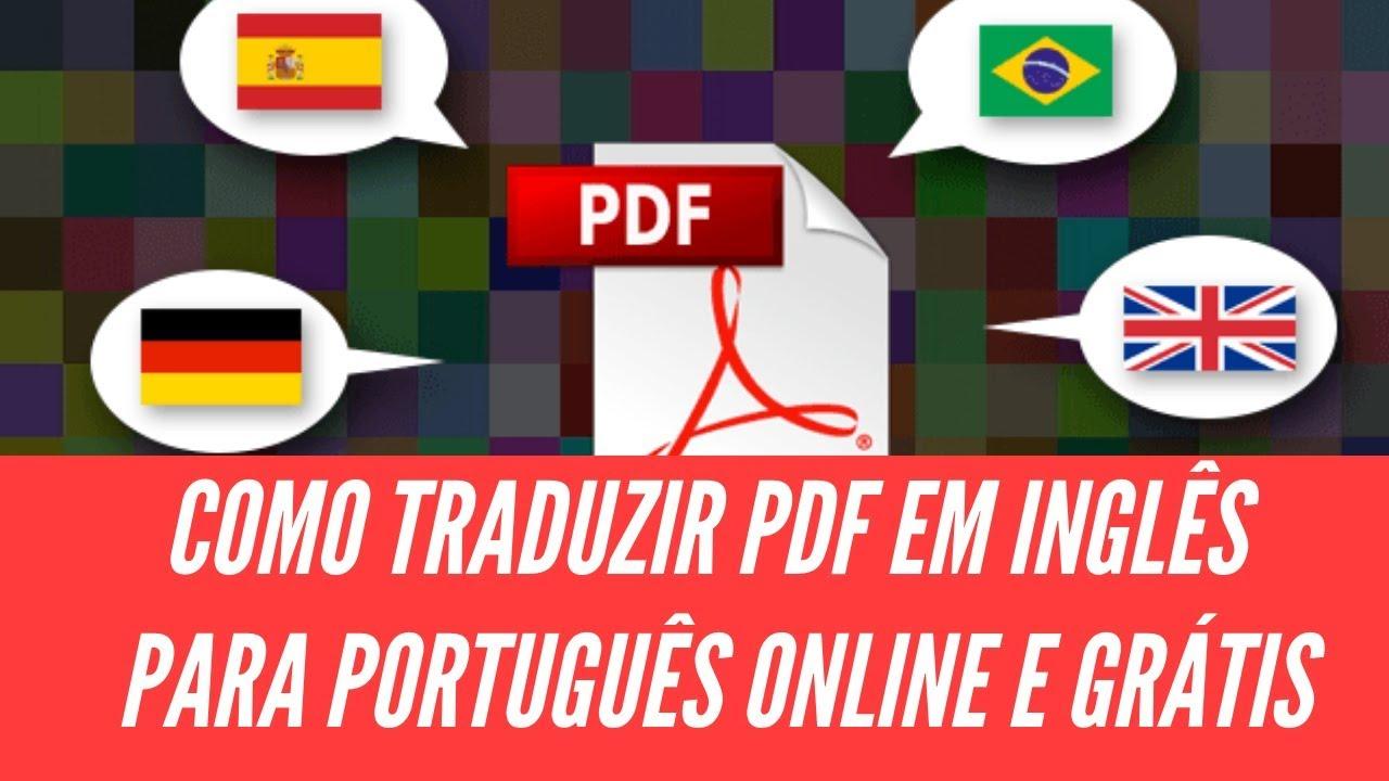 Tradutor Pdf Ingles Portugues
