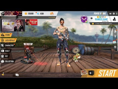 Ranked Match Garena Free Fire Live India