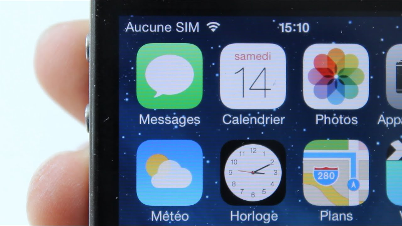 Hacktivation De Ios 7 Sans La Carte Sim Iphone 4 Youtube