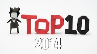 Top 10 Origami 2014