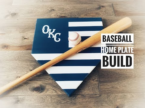 Wooden Home Plate Decor
