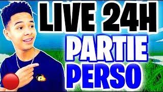 🔴 LIVE 24H WE DO TOP 1 ON FORTNITE! CODE CREATOR: Kenziis