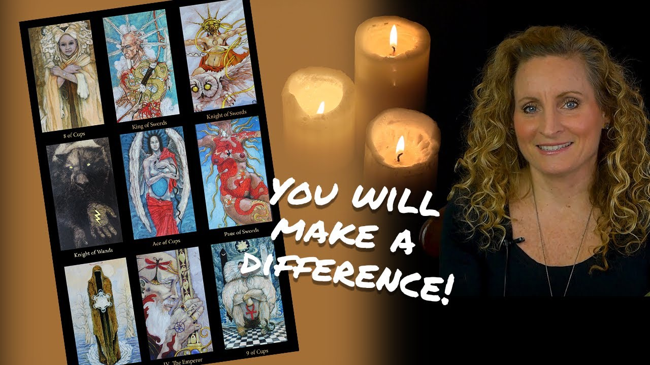 Weekly Tarot Reading for ALL Zodiac Signs - You will make a difference!