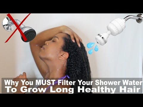 Why Your Shower Water Is Killing Your Hair Growth | Shower Filter | Natural Hair