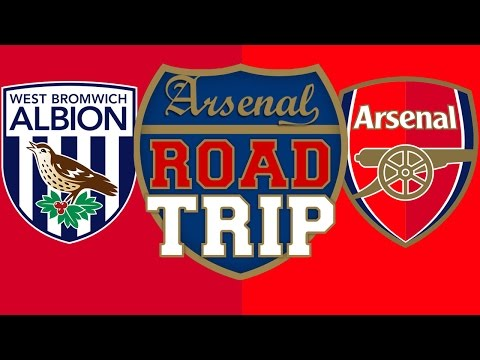 West Brom v Arsenal | Road Trip To The Hawthorns