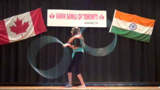 Diya's  Hula Hoop dance 2014 - Talent show