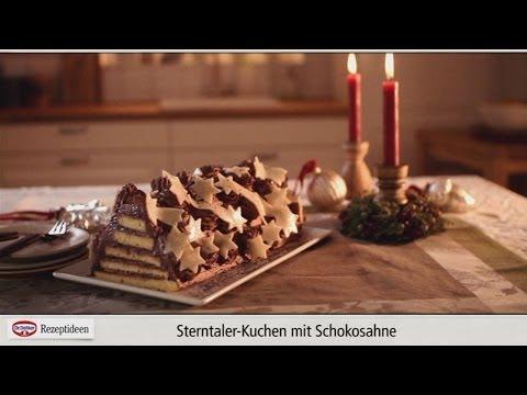 Rezept: Sterntaler-Kuchen mit Schokosahne von Dr. Oetker from YouTube · Duration:  3 minutes 47 seconds