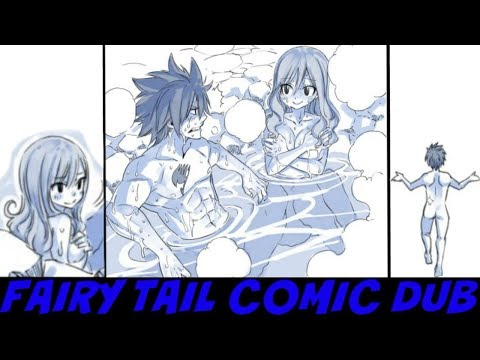 FAIRY TAIL COMIC DUB Gray & Juvia Spa Date Comic  Hiro Mashima
