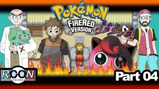 Pokemon: Fire Red - Part 4 - Between a Brock and a Puff place