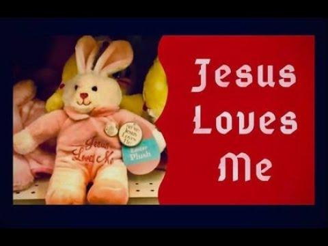 Easter Bunny singing Jesus Loves Me