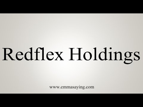How to Pronounce Redflex Holdings