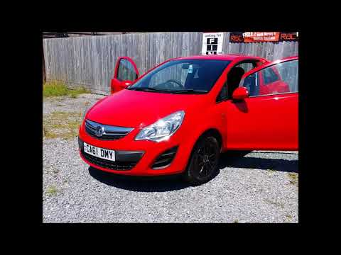 Vx Corsa 2012   Moto Style Cars For Sale South Wales
