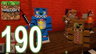 Minecraft: PE - Gameplay Walkthrough Part 190 - FNAF (iOS, Android)