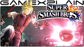 4 NEW Cloud Super Smash Bros Screenshots (Wii U & 3DS Slideshow)