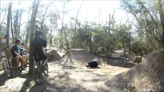 mountain bike .terry hershey,houston texas anthills trail.