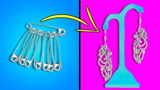 14 DIY HACKS HOW TO MAKE JEWELRY FROM ANYTHING