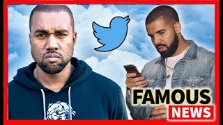 Kanye Blasts Drake Over Twitter, Arianna sings about Mac Miller in Imagine & More | Famous News