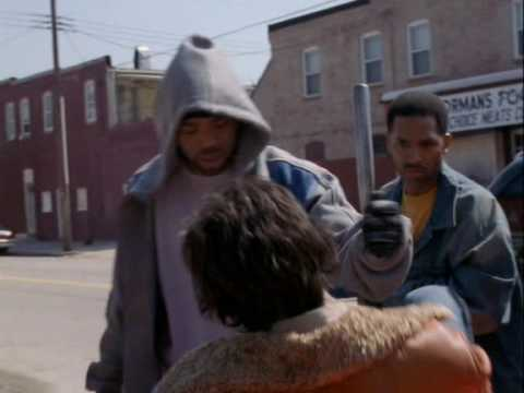 The Wire - Cheese Beats Ziggy And Steals His Car