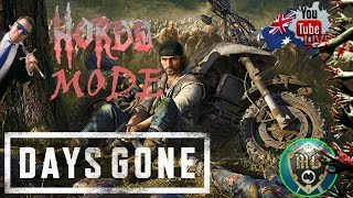 Days Gone 🧟 Horde Mode Live Game Play