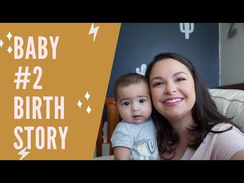 Birth Story | Baby #2 | All natural, un-medicated