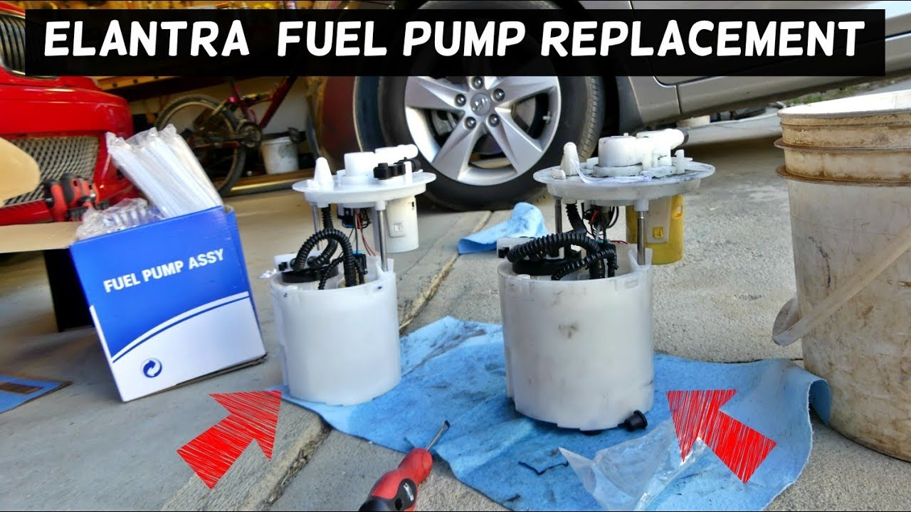 Hyundai elantra fuel pump replacement
