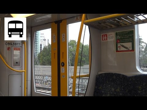 Sydney Trains H-Set (OSCAR) - Milsons Point to North Sydney (Last Stop)