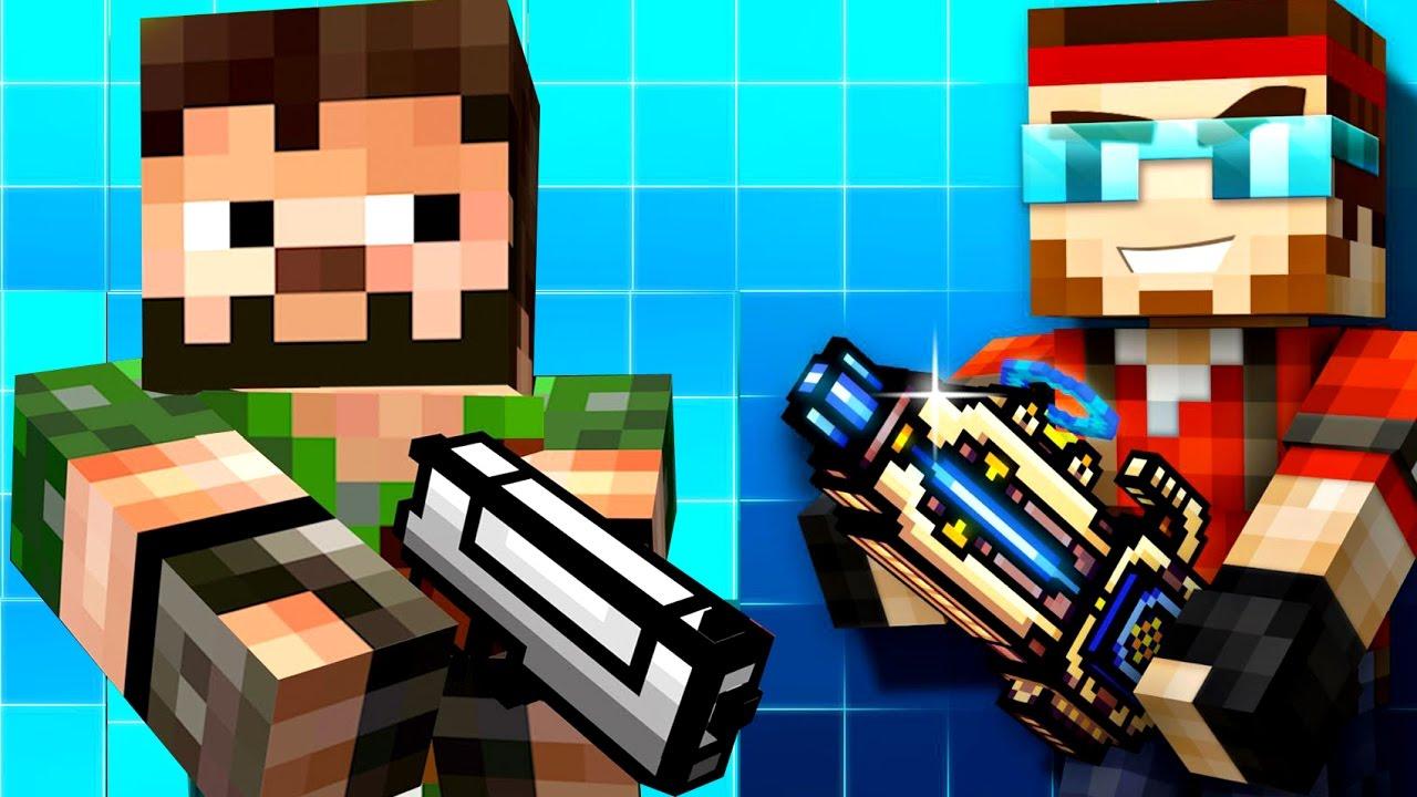 Pixel Gun 3d Let S Play Kokaplay пиксель ган 3д по