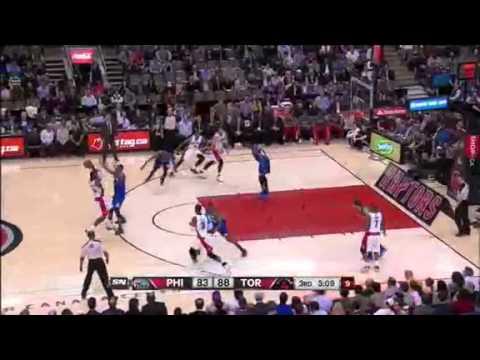 Toronto Raptors vs Philadelphia 76ers April 9, 2014